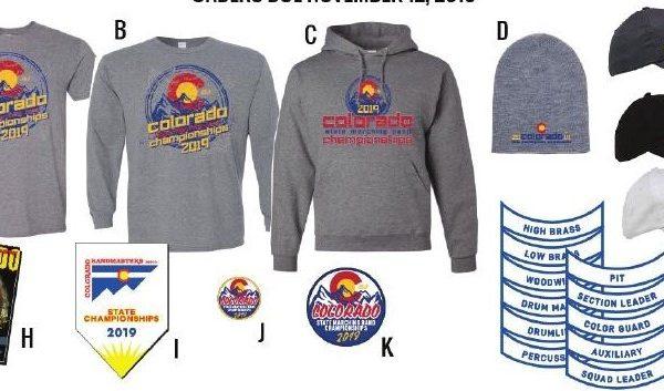 2019 State Merchandise